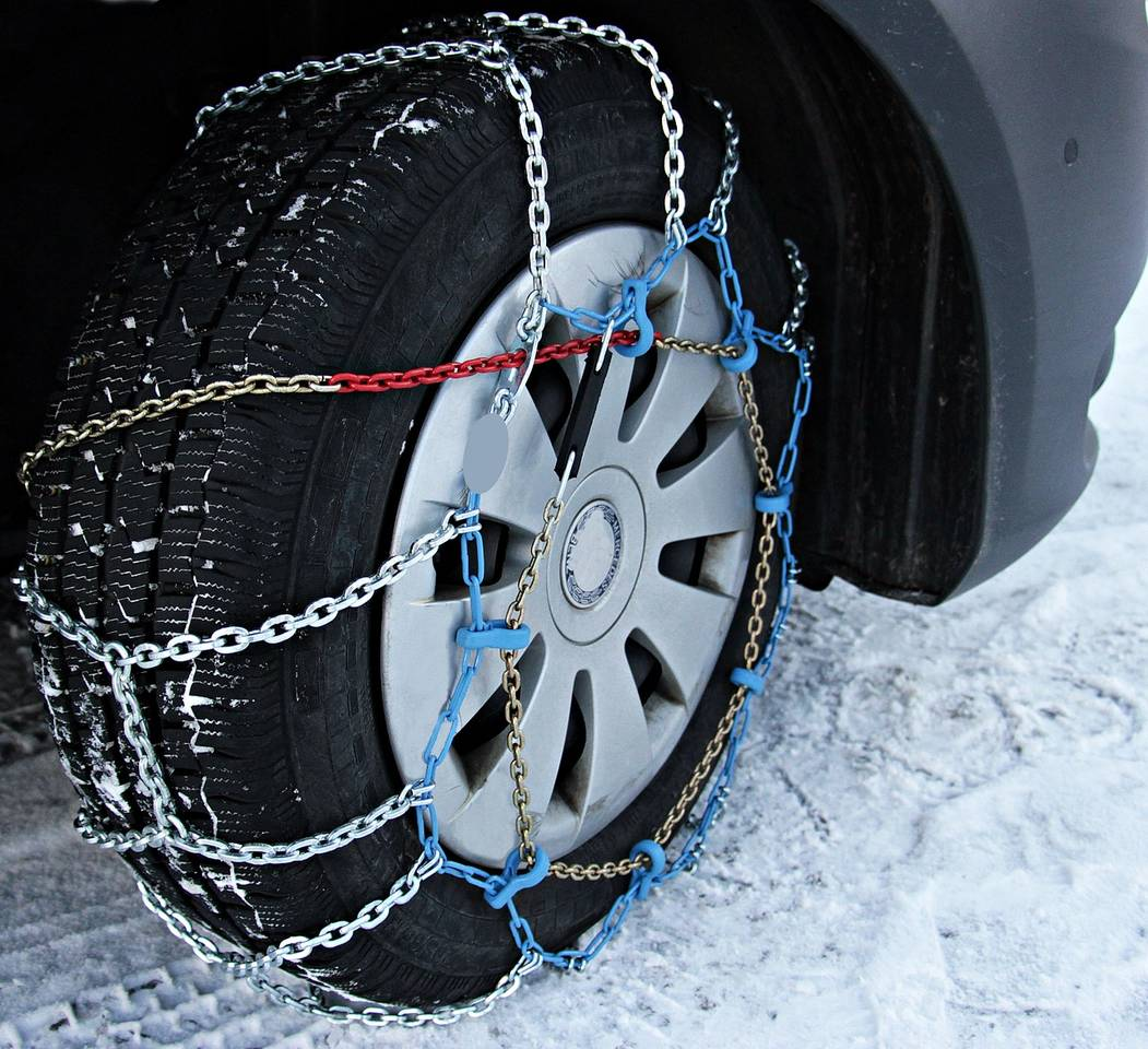 Diamond Pattern Snow Chains